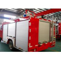 Quality Gross Weight 100000kg Fire Rescue Vehicles , 4HK1-TC Chassis Engine Industrial Fire Truck for sale