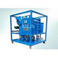 Double Stages Insulating Transformer Oil Purification Machine With Leybold Pumps Manufactures