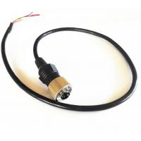 Commercial Vehicle Backup Camera Extension Cable , 6 PIN MiniDin Extension Cables Manufactures
