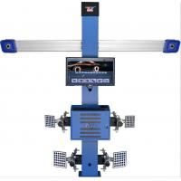 T258 Four Tire Computerized Wheel Aligner Two Cameras High Accuracy 3d 3EXCEL Manufactures