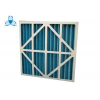 Quality Custom Size Industrial Air Filters Resistance 30 Pa , 2000 M3/H Rated Air Flow for sale