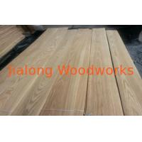 Sliced Cut Russia Ash Wood Veneer Brown ,  Paper Backed Veneer Manufactures