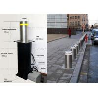 Automated Hydraulic Bollards Stainless Parking Vehicle Barrier for Driveways Manufactures