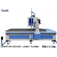 MDF Plate Cutting 3 Axis CNC Router Machine With Infrared Sensing System Manufactures