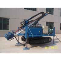 Buy cheap Hydraulic Clamp Wrench Device Anchor Drilling Rig / Crawler Drilling Rig from wholesalers