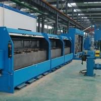 Double Wires Copper Wire Drawing Machine Sliding Heavy Duty With No Alternating Bending Manufactures