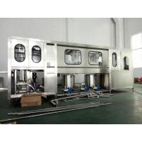 Fully Automatic Drinking Water Filling Machine 600-3000BPH For 5 Gallon PET Bottle Manufactures