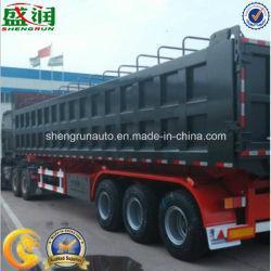 Best Selling Price Shandong Shengrun Manufacturer Dump Truck Semi Trailer, Dumper Tipper Semi Trailer, Tipping Trailer Manufactures