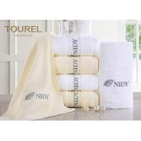 Customized Hotel Hand Towels High Water Absorbent 100% Cotton Manufactures