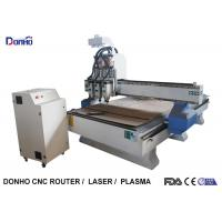 Three Spindles CNC Milling Machine , 3D CNC Router Wood Carving Machine Manufactures