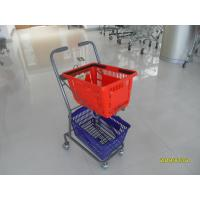 4 Swivel 3 Inch PVC Casters Supermarket Shopping Trolley Used In Small Shop Manufactures