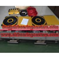 Air bearing casters details with price list Manufactures