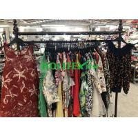 Quality Holitex Used Womens Clothing Summer Colorful Silk Blouses For Southeast Asia for sale