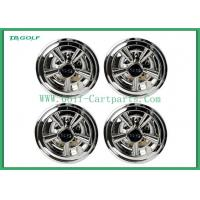 China Hubcaps Wheel Covers Golf Trolley Accessories Chrome Finish Plastic Material on sale