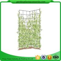 """Two Panel Folding Screen Trellis , Garden Trellis Plant Support 35-1/2"""" W x 58"""" H overall  Powder-coated steel Manufactures"""