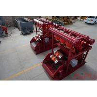 Well drilling mud process Hunter series mud cleaner at Aipu solids control Manufactures