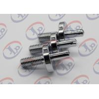 CNC Milling Metal Lathe Services Nickel Plated Iron Bolts with slotted Manufactures