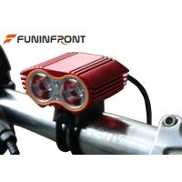 2000 Lumens CREE XML T6 Led Bicycle Front Lights for Moutain Bike Manufactures