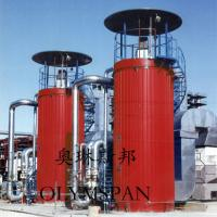 Automatic Gas Fired Vertical Thermal Oil Boiler High Efficiency ASME Standard Manufactures