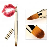 China Double Head Lip Makeup Tools , Lip Liner With Brush 1 CM Hair Length on sale
