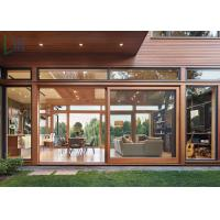 Great Vision Aluminium Sliding Doors High Light With Double Glazing Temper Glass Manufactures