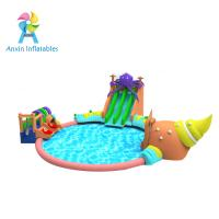 2017 new design giant outdoor inflatable water park, commercial inflatable water playground for sale Manufactures