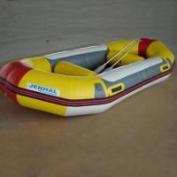 Quality Summer Fireproof Rubber PVC Inflatable Boat For Stream Activity for sale