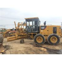 Quality Caterpillar 140K Used Motor Grader New Painting 190hp CATC7 Engine Model for sale