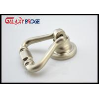 Shakeable Wine Cabinet Ring Pulls , Brushed Satin Nickel / Zinc Alloy / Brass Ring Pull Manufactures