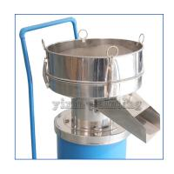 Quality 0.55 Kw Powder Sieving Machine , Powder Sifter Machine 400 Mm Diameter for sale