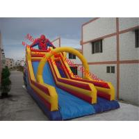 giant inflatable slide for sale industrial inflatable water slide sipderman inflatable Manufactures