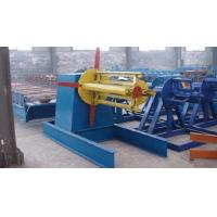 Computer Control Roll Forming Production Line 1.5KW Hydraulic Uncoiler Machine Manufactures