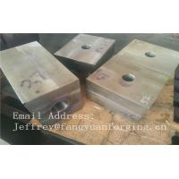 Buy cheap SA182 F316 F304 SForged Steel Products Forgings Block Solution Milled And Drilling from wholesalers