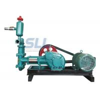 20 Bar Single Cylinder Piston Mud Slurry Pump For Building Construction Manufactures
