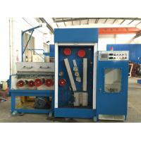 Copper Customized Wire Drawing Machine , Horizontal Wire Drawing Machine With Annealer Manufactures