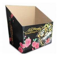 Colorful 6 * 4 * 5 Inch Printed Paper Corrugated Gift Boxes For Products Display Manufactures