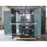 High voltage power transformer oil treatment machine, insulating oil filtration, oil purification system Manufactures