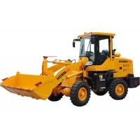 1 Ton Front End Loader Construction Equipment 918 Yellow Color With Isuzu Axle Manufactures