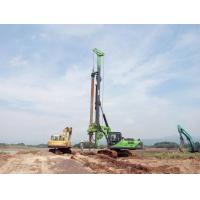 Buy cheap 150 KN.M 52m Depth Hydraulic Piling Rig , Pile Driver Machine 1500mm Drilling Diameter from wholesalers