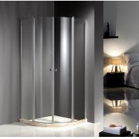 Chrome Profile 900X900 Quadrant Shower Enclosures , Clear Glass Shower Enclosures Manufactures