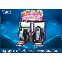 32 Inch Outrun Racing Game Machine with Plastic , Alloy Steel Structure Manufactures