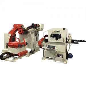 Metal Mold Material Stamping Nc Servo Feeder / Metall Processing Machine