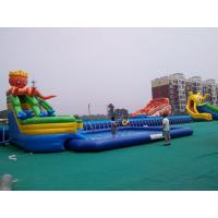 Large Inflatable Water Pool , Round / Square Inflatable Water Swimming Pool Manufactures