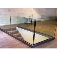 Customized Frameless Glass Deck Railing Systems Stainless Steel Railing For Balcony Manufactures