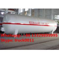 bottom price customized surface lpg gas storage tank for sale, Factory sale cheapest 5-120m3 propane gas storage tank Manufactures