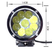 Auto Waterproof 45Watt Led Work Lights For Tractors , 6000K CREE LED Work Lighting Flood beam Manufactures