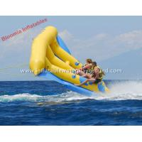 Large Fun Water 2 Person Towable Inflatable Fly Fish Banana Boat Manufactures