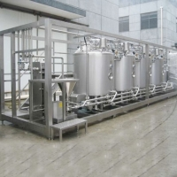 SGS CIP Cleaning Stainless Steel UHT Pasteurization Milk Machine Manufactures
