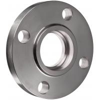 F321 Stainless Steel Pipe Flanges , 1 Inch Raised Face Slip On Flange Manufactures