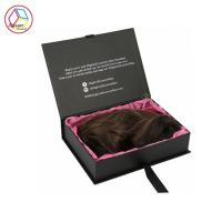 Luxury Hair Extensions Packaging Box , Virgin Hair Packaging Box Manufactures
